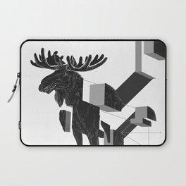 moose_deconstructed Laptop Sleeve