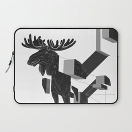 moose_deconstructed Laptop Sleeve