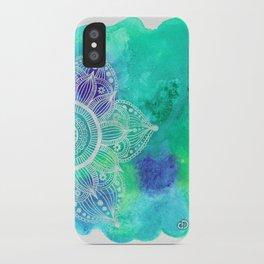 Ice Mandala iPhone Case