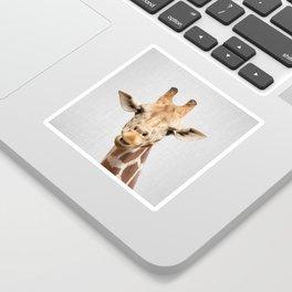 Giraffe 2 - Colorful Sticker