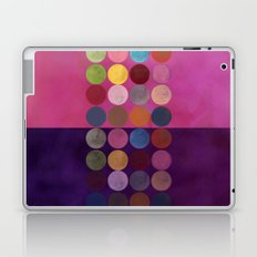 purple painterly dots Laptop & iPad Skin