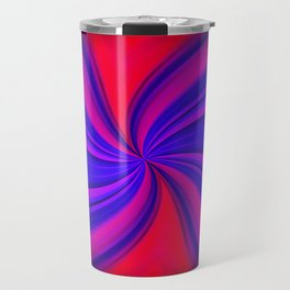 Abstract Expressionism Travel Mug