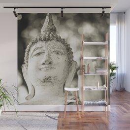 Buddha in Sukhothai Wall Mural
