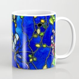 "John La Farge ""Butterflies and Foliage"" window. 1889 (1.) Coffee Mug"