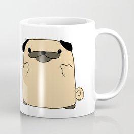 Pug Flipping Double Bird Coffee Mug
