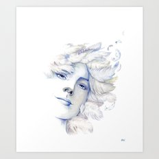 Goddess: Air Art Print