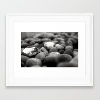 rocky Framed Art Prints featuring Rocky by Jade Collins
