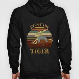 Eye Of The Tiger Jensen Ackles Retro Sunset T Shirt Hoody