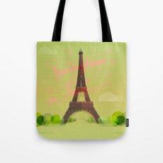 Springtime in Paris Tote Bag