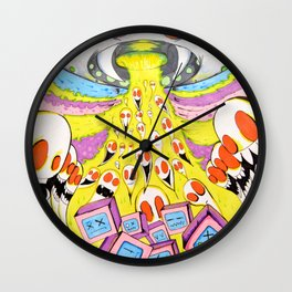 Resurrection Of Dead Technology Wall Clock