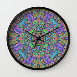 For You Mandala Wall Clock