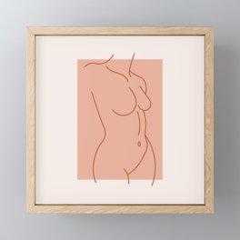 Female Form #3 Framed Mini Art Print