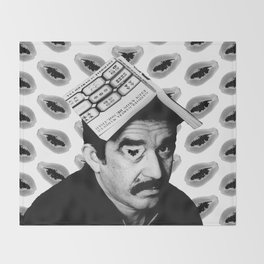 Gabriel García Márquez Throw Blanket