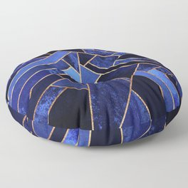 Blue Night Floor Pillow