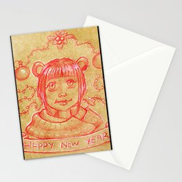 New Years Riri Stationery Cards