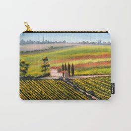 Vineyards In Tuscany Italy Carry-All Pouch