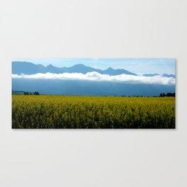 Mustard in Bloom Canvas Print