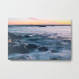 Sunrise Exposure Metal Print