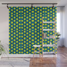 Geo-Neon Laced Repeat Pattern Wall Mural
