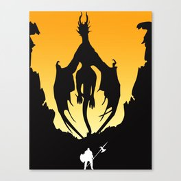 Dark Souls Prepare To Die! Canvas Print