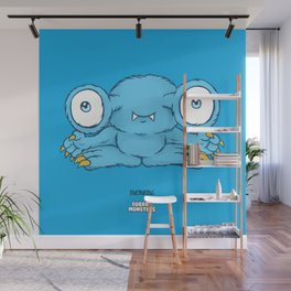 Bluemungus Wall Mural