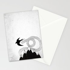 Mountain Swallow Stationery Cards