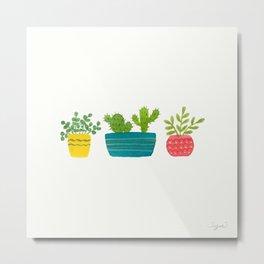 House Plants Metal Print