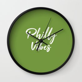 Philly Vibes Wall Clock