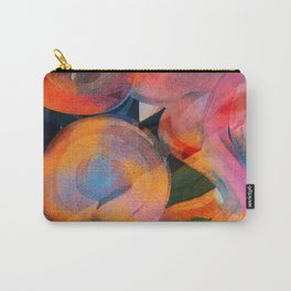 Abstract Zen Art with Words Carry-All Pouch