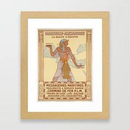 Vintage poster - Egypt Framed Art Print
