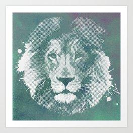 Lion's mark Art Print