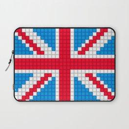 Union Jack by Qixel Laptop Sleeve