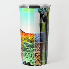 An Abstract Desert I Travel Mug