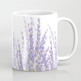Lavender in the Field Coffee Mug