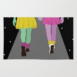 Space Girls Rug