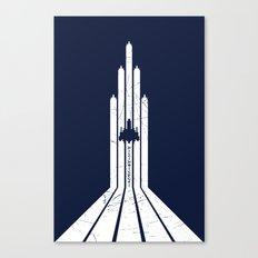 Super Star Soldier Canvas Print