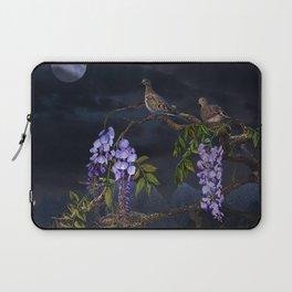 Doves In Moonlight Laptop Sleeve