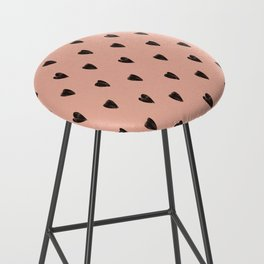 Black hearts Bar Stool
