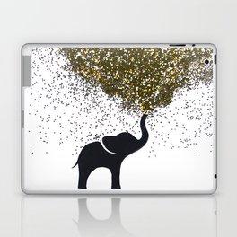 elephant w/ glitter Laptop & iPad Skin