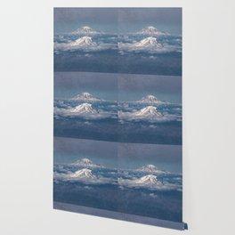 Mount Adams Mt Rainier - PNW Mountains Wallpaper
