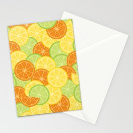 Citrus Carnival Leafless Stationery Cards