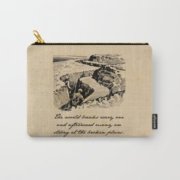 A Farewell to Arms - Hemingway Carry-All Pouch