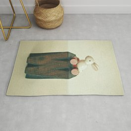 W is for Wheels Rug
