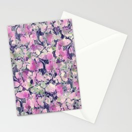 Pink Water Blossoms Stationery Cards