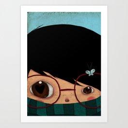 Blinking Art Print