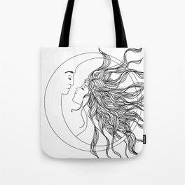 Sun and Moon II Tote Bag