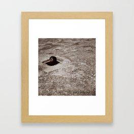 El encierro de Dante Framed Art Print