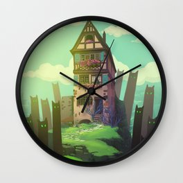 The Spirits of the Valley Wall Clock