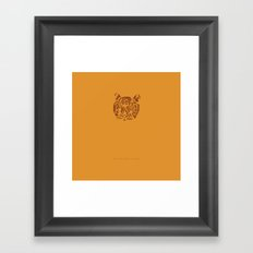 All You Need is 20 Seconds of Insane Courage -We Bought a Zoo Framed Art Print