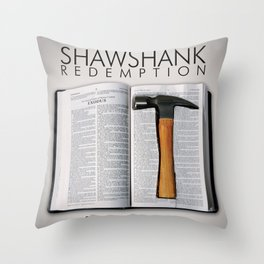 the shawshank redemption Throw Pillow